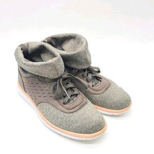 UGG Islay Leather Paneled Sneakers